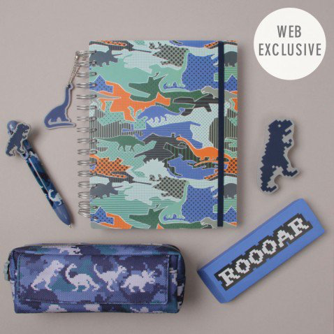 Dinosaur stationery kit from Paperchase