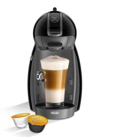 Picture of Nescafe Dolce Gusto coffee machine making a latte