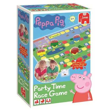Peppa Pig Race Time Party Game Picture