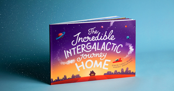 The Incredible Intergalactic Journey Home Book Picture