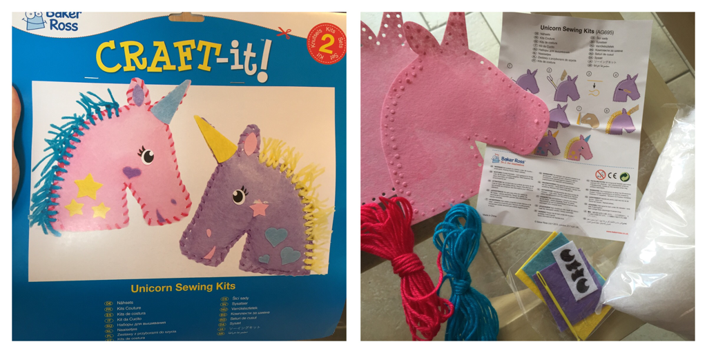 Unicorn Sewing Kit for Kids