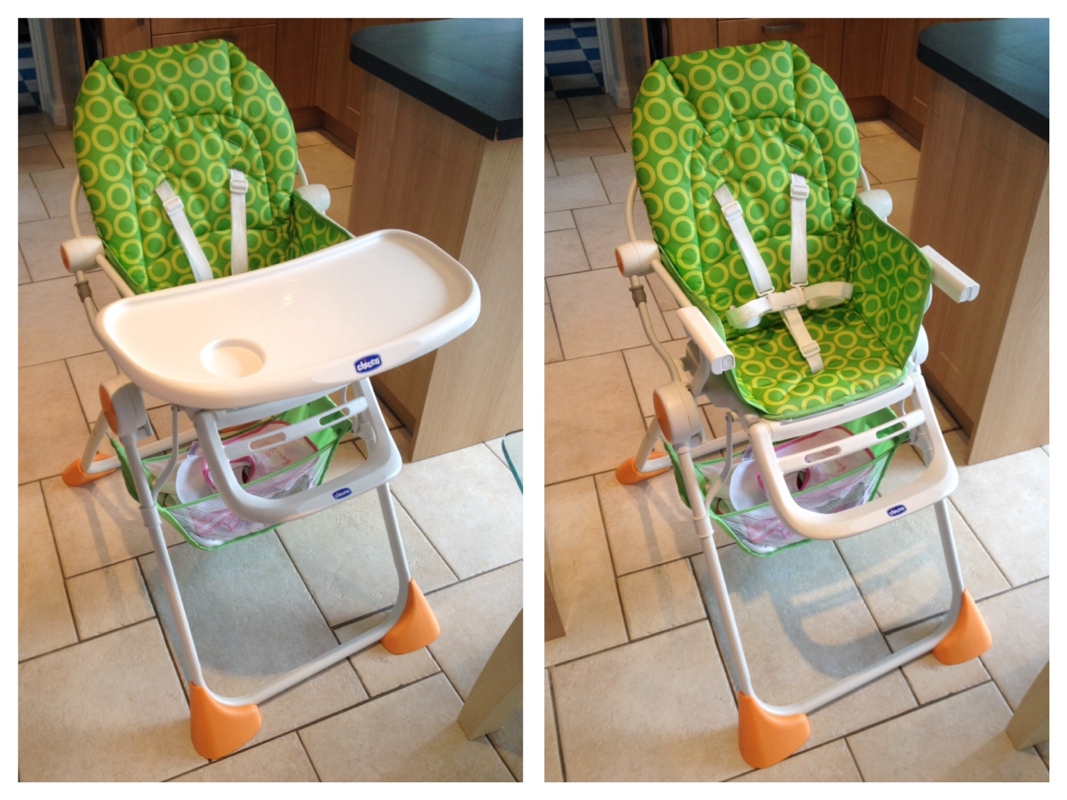 Picture - Chicco Pocket Lunch Highchair