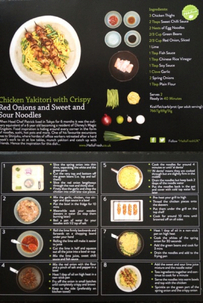 Picture of Hello Fresh Chicken Yakitori recipe card