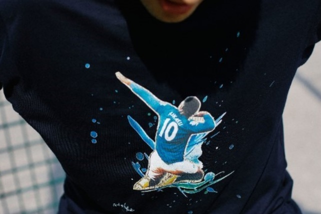 Art of Football tshirt Picture