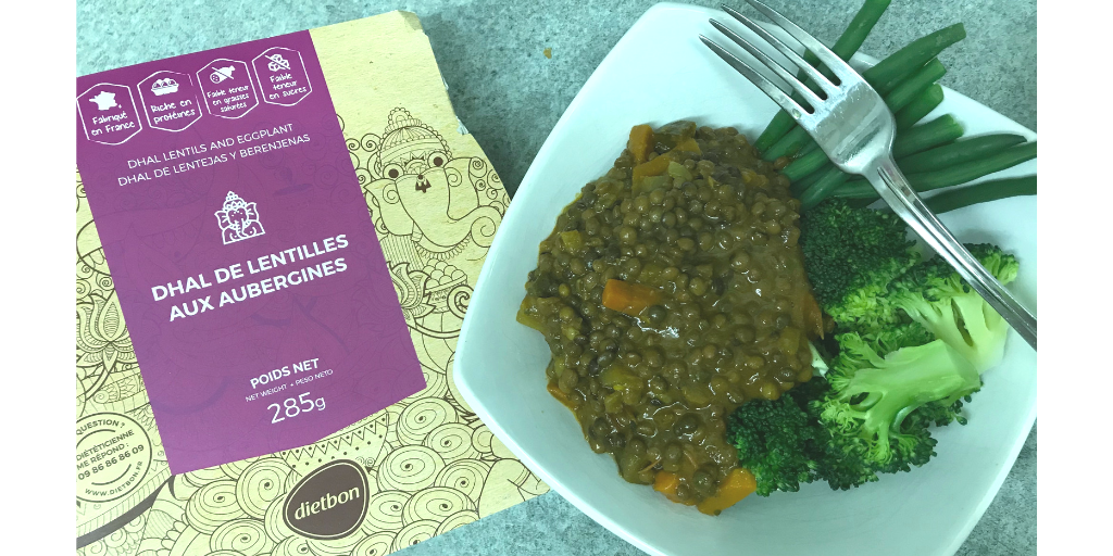 Picture of Dietbon diet meals delivery plan Dhal lentils