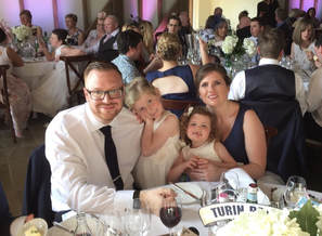 Picture of family at wedding