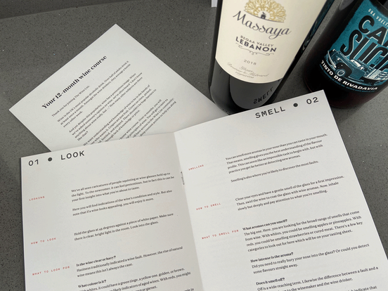 The Wine List Review - Tasting guide course