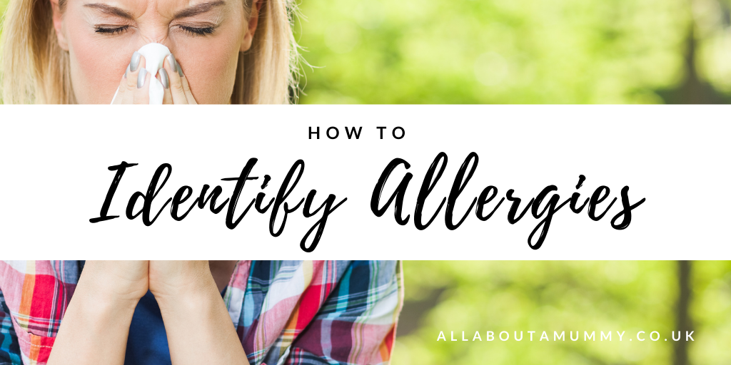 How to Identify Allergies blog post title image