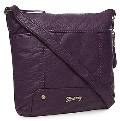 Mantaray cross body bag in purple from Debenhams