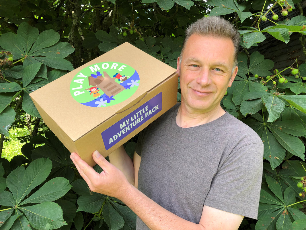 Picture of Chris Packham with Sudocrem Play More Adventure Pack