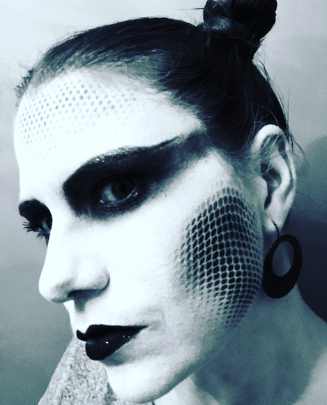 Halloween Mermaid Alien Make Up Picture