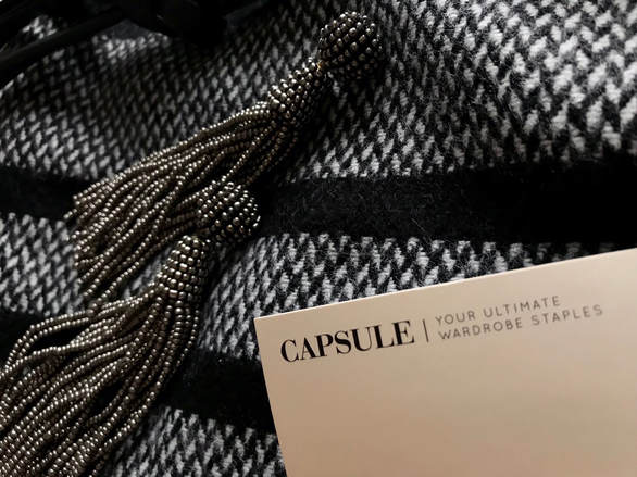 Picture of Simply Be Capsule collection label