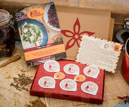 Picture of The Spice Pioneer Subscription box