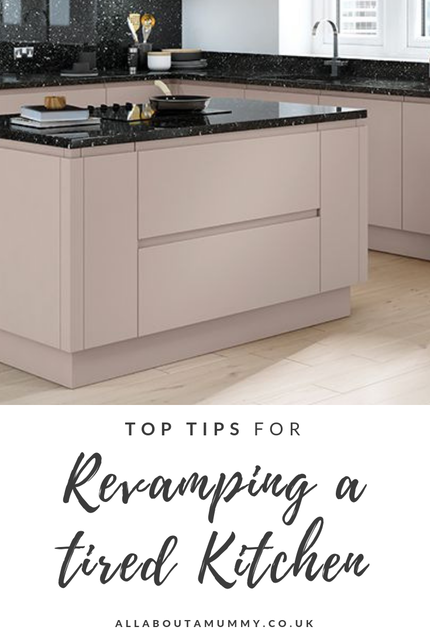 Top Tips for Revamping a Tired Kitchen blog post