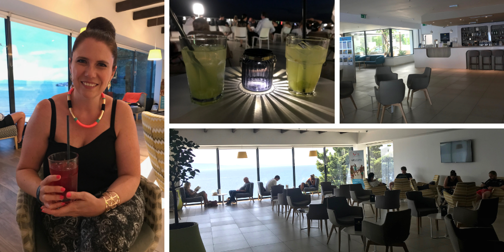 Pictures of the cocktail bars and mojito terrace - Sensimar Adriatic Beach Croatia Review