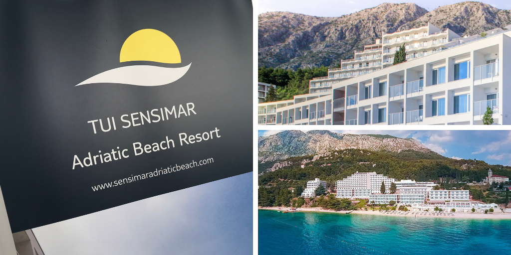 Collage of Sensimar Adriatic Beach resort Croatia external images