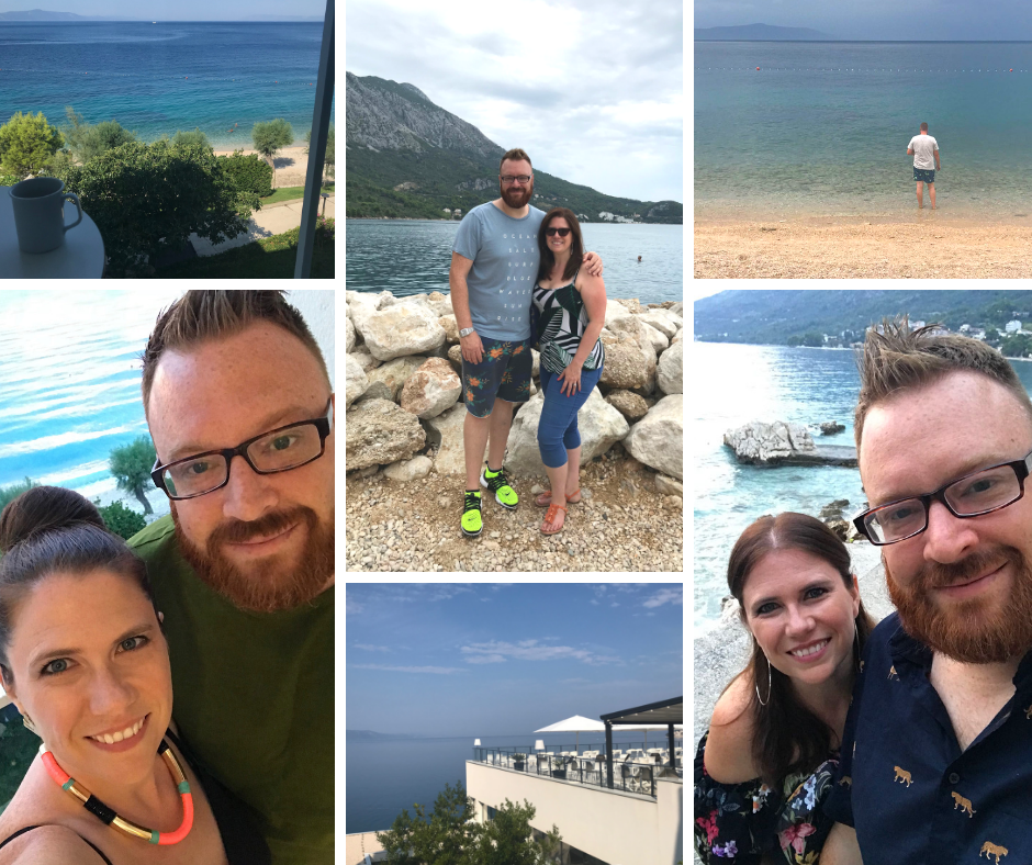 Pictures of us at Sensimar Adriatic Beach Croatia